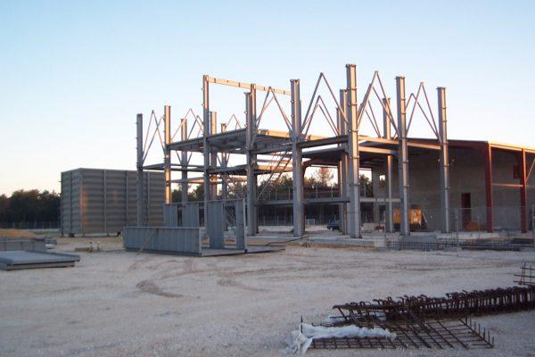Montaje estructura metálica
