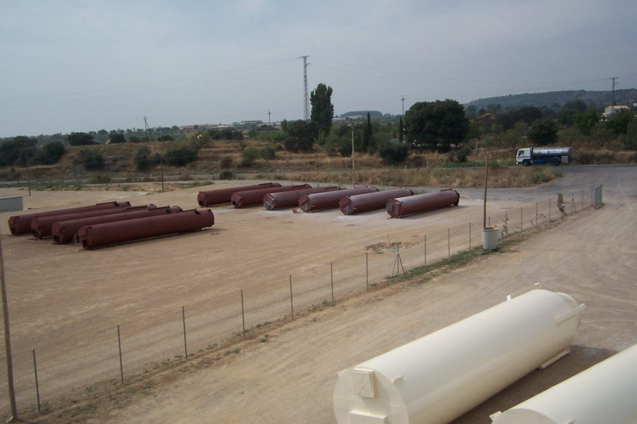 2003. Fábricca de piensos Girona