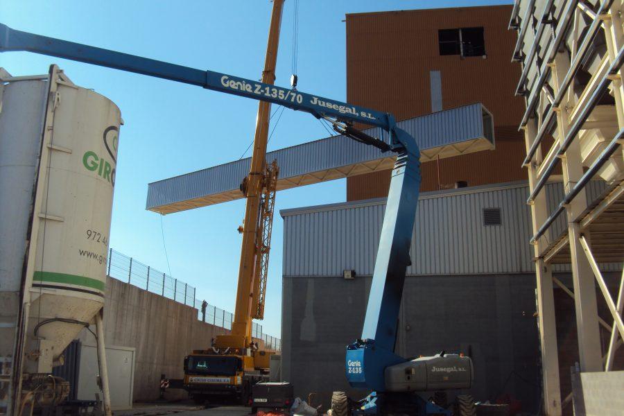 2014. Fábrica de piensos Girona